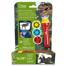 Load image into Gallery viewer, Brainstorm Natural History Museum Dinosaur  Torch and Projector