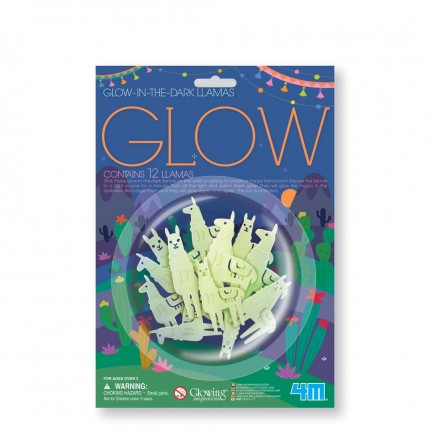 4M - Glow in the Dark Llamas
