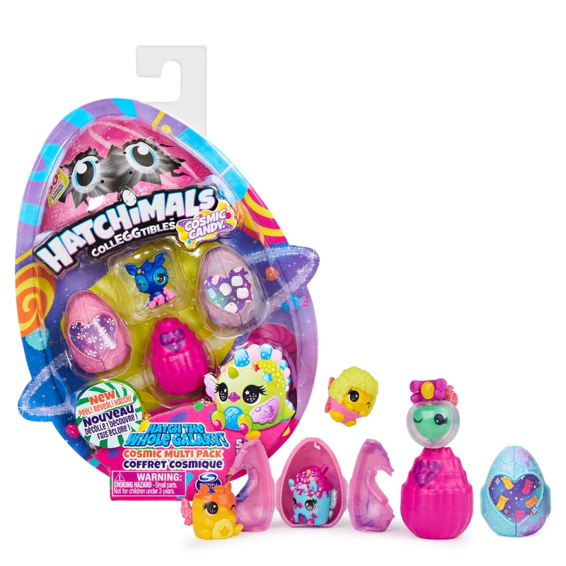 Hatchimals  CollEGGtibles  Cosmic  Candy  Multipack