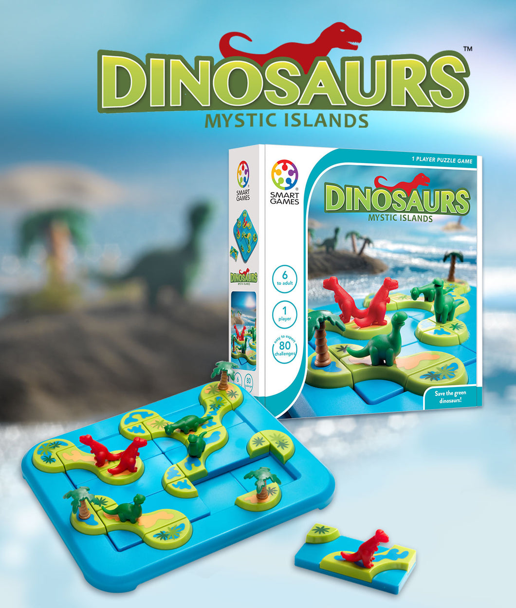 Smart Games Dinosaurs Mystic Islands - BEST SELLER