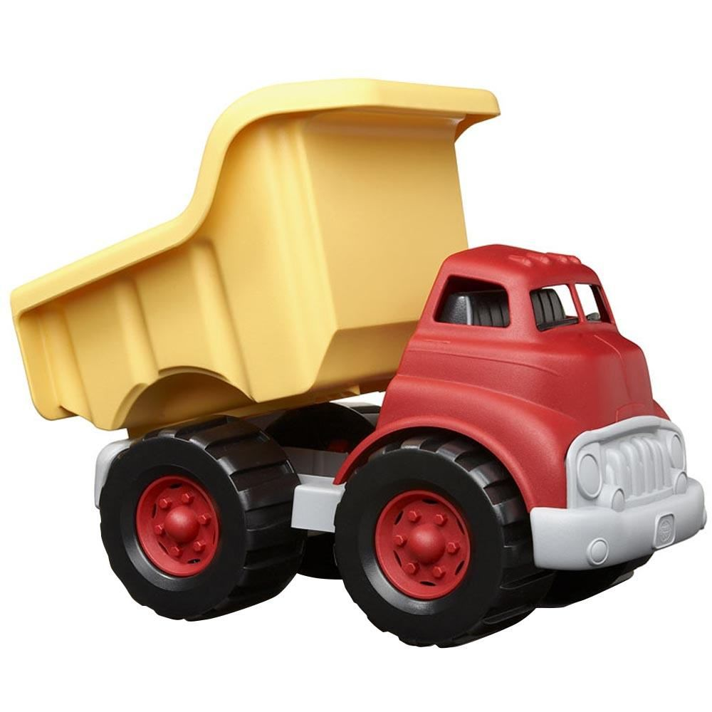 Dump Truck - Red And Yellow