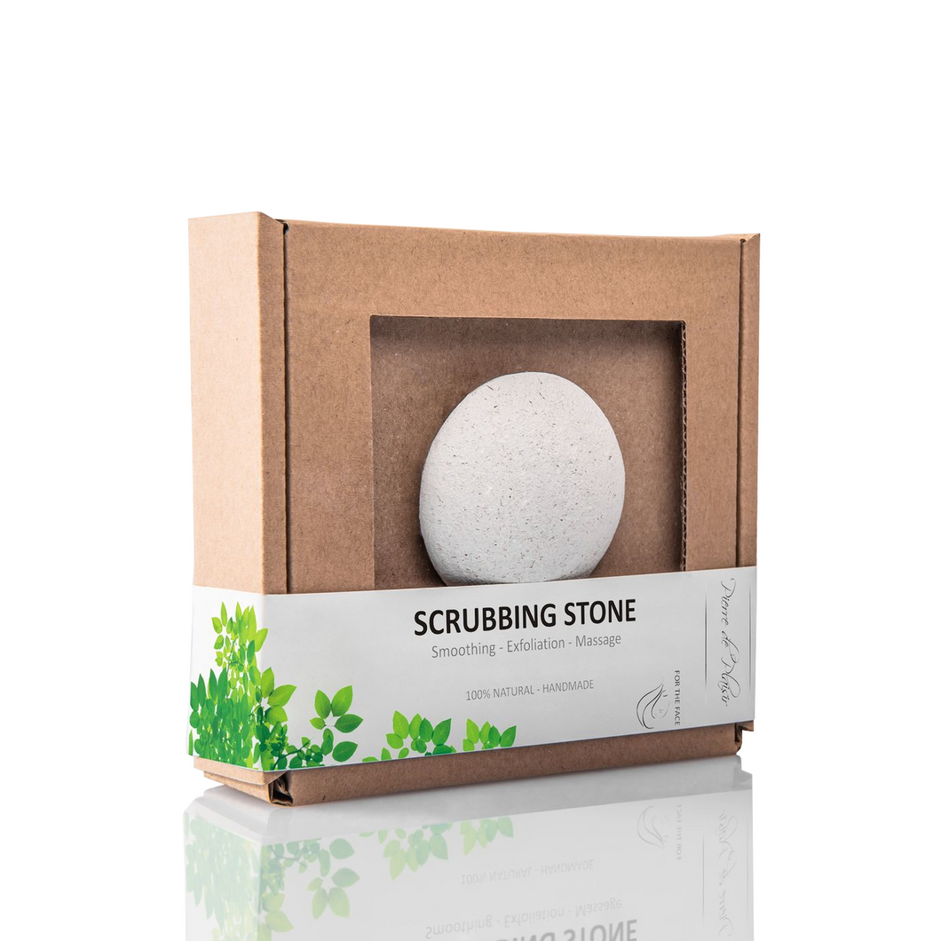 Natural Scrubbing Stone for the Face White - 40g