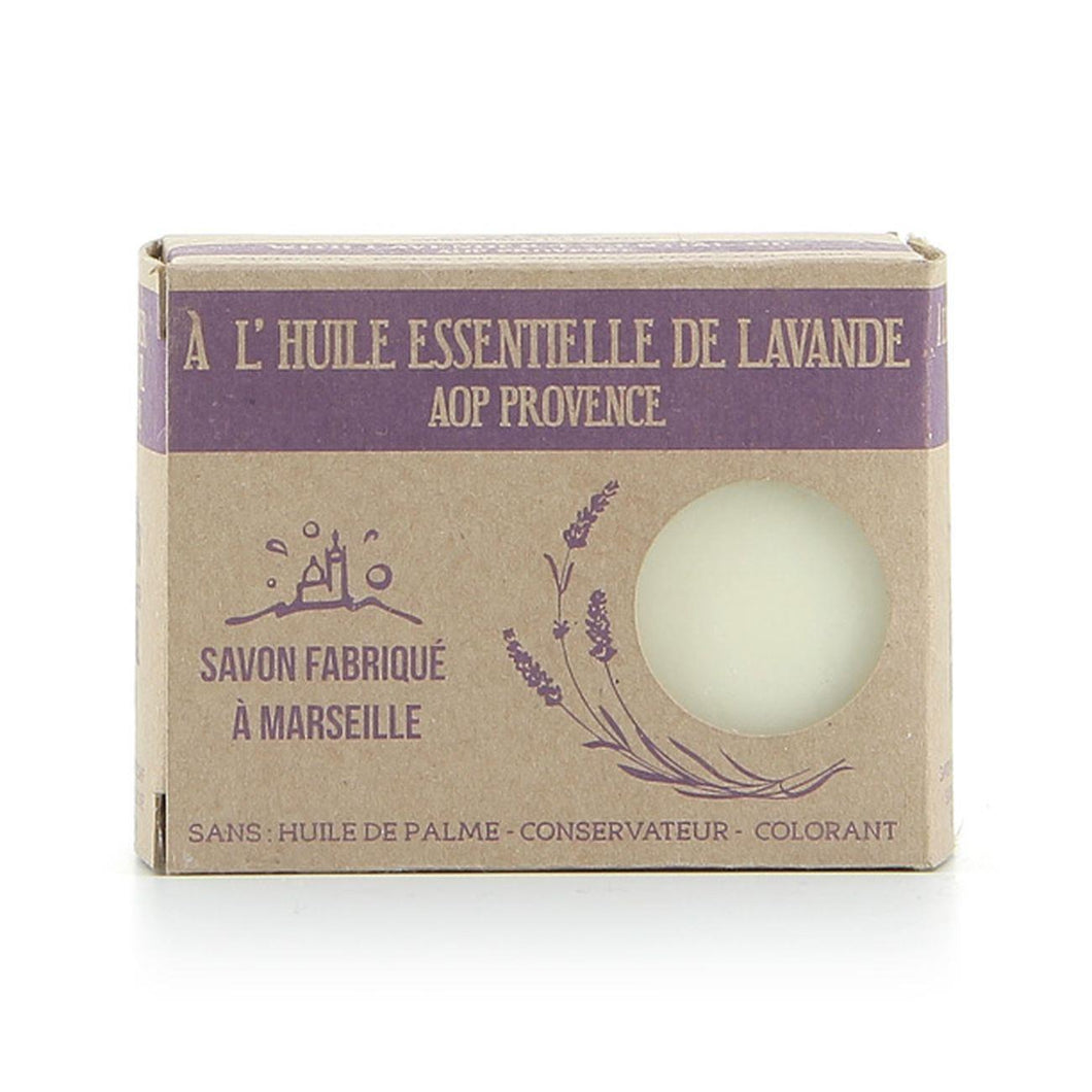 Marseille Soap Lavender Soap  99% Natural Palm Oil Free - 150g