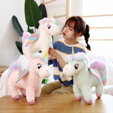 Load image into Gallery viewer, Fluffy Unicorn Plush