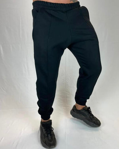 HEAVYWEIGHT SWEATPANTS BLACK