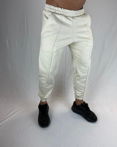 HEAVYWEIGHT SWEATPANTS OFF WHITE