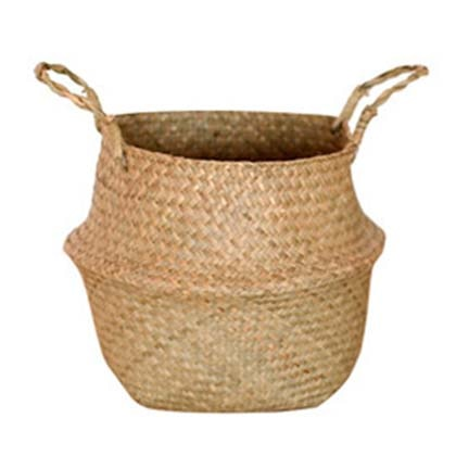 Handmade Wicker Planter Basket