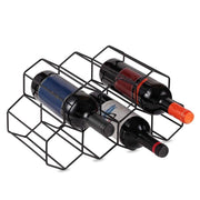 Creative Iron Wine Rack
