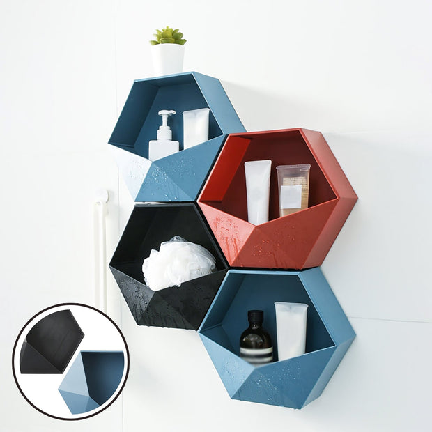 Wall Mounted Bathroom Storage Shelf