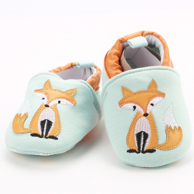 Soft Kawaii Shoes for Babies Fox