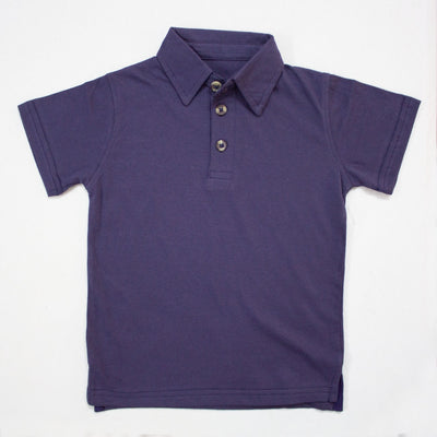 BLUE POLO SHIRTS FOR KIDS