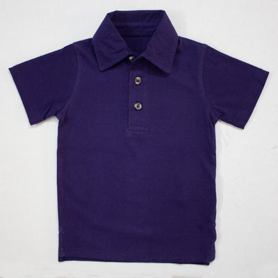 DARK BLUE POLO SHIRTS FOR KIDS