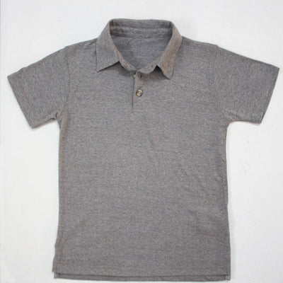 DARK GREY POLO SHIRTS FOR KIDS