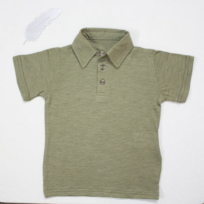 LEMON GRASS POLO SHIRTS FOR KIDS