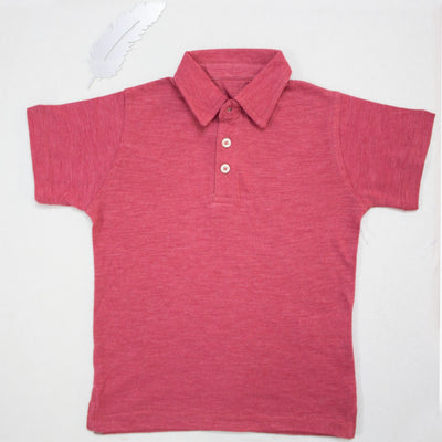 RED POLO SHIRTS FOR KIDS
