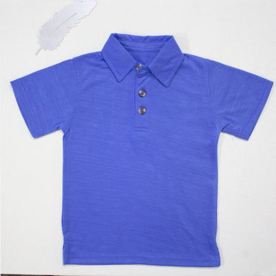 ROYAL BLUE POLO SHIRTS FOR KIDS