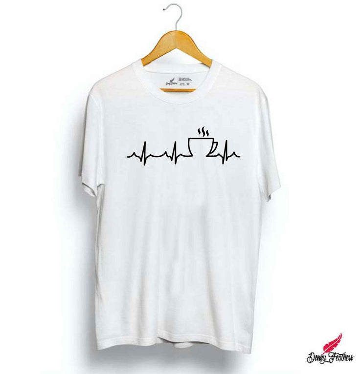 LIFE LINE WITH TEA T-SHIRTS FOR MEN | WOMEN
