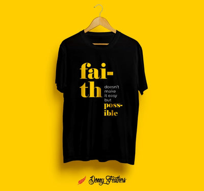 FAITH T-SHIRTS FOR MEN | WOMEN