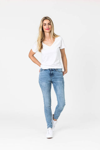Shine On Label Sculpt Denim Blue