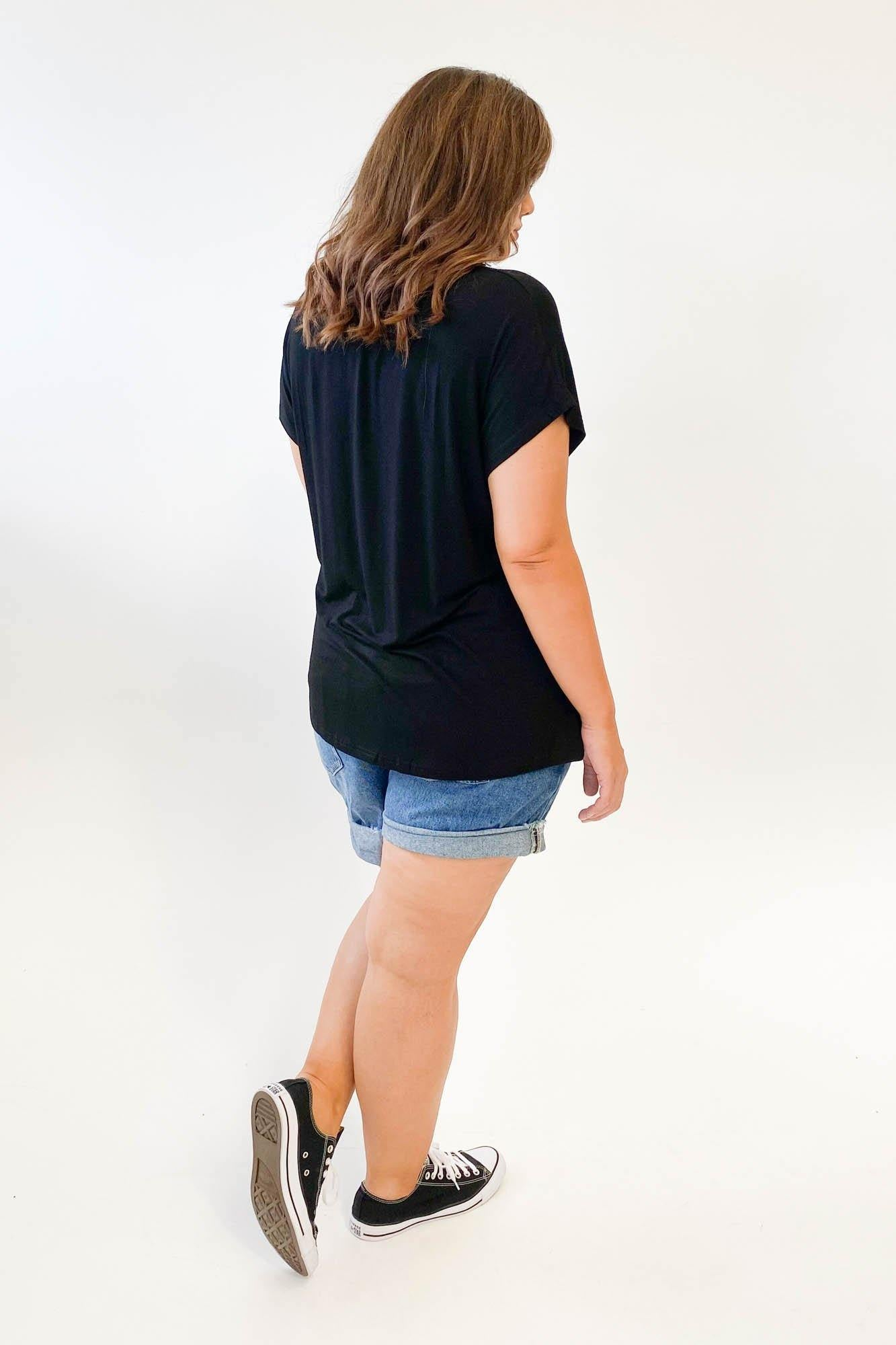 17 Sundays Basic Dolman Tee Black