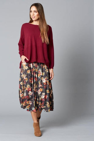 Isle Of Mine Dawn Skirt Wildflower