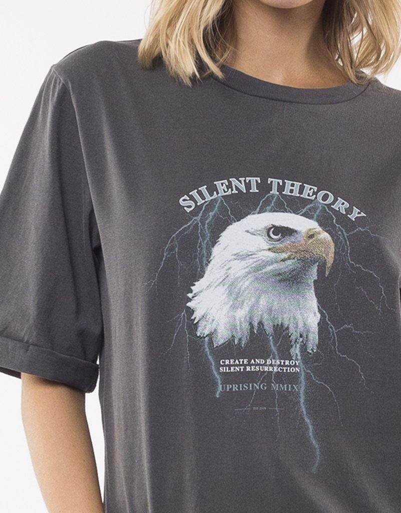 Silent Theory Destroy Tee Coal