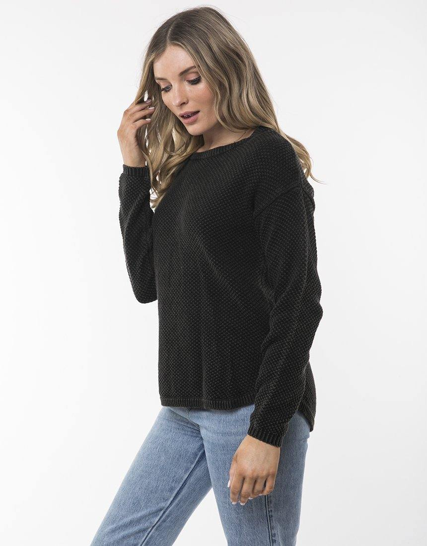 All About Eve Vintage Knit Black