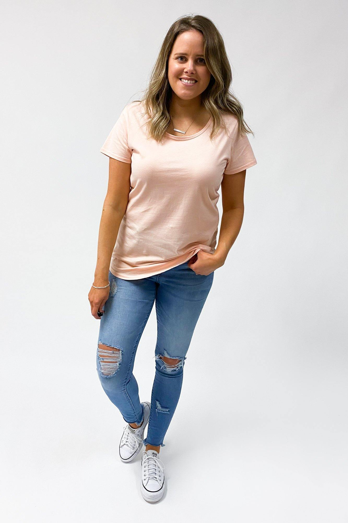 AS Colour Mali Tee Pale Pink (2for40)