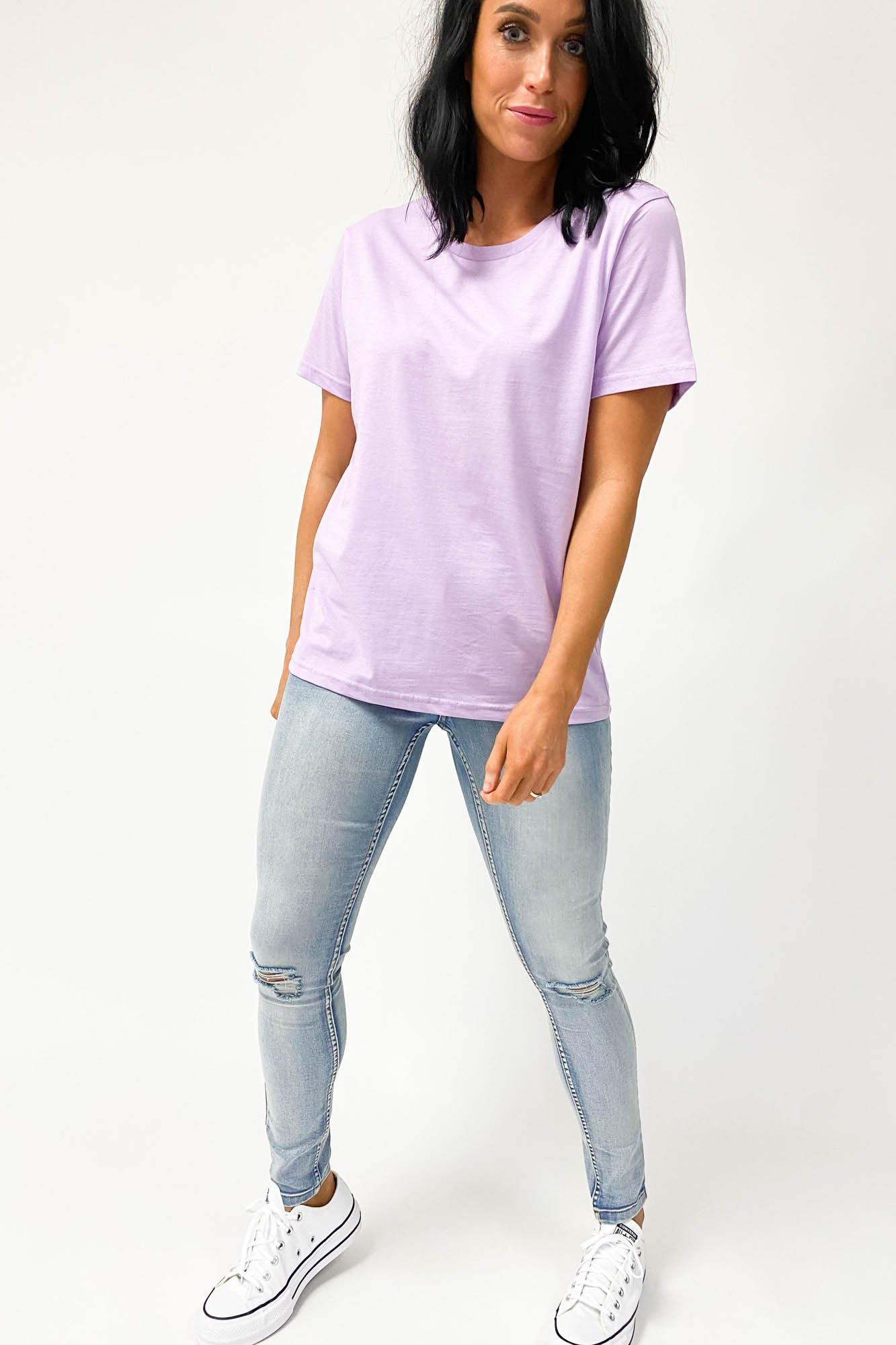 AS Colour Maple Tee Lavender (2for40)