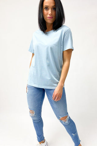 AS Colour Maple Tee Pale Blue (2for40)