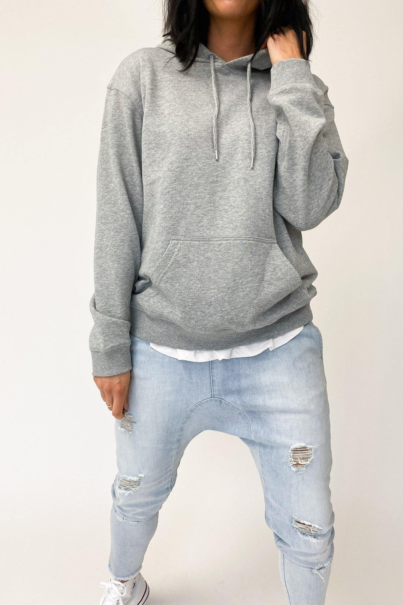 AS Colour Premium Hood Grey Marle