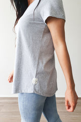 Elm Fundamental S/S Tee Grey Marle