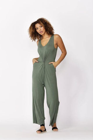 Betty Basics Kavala Jumpsuit Olive