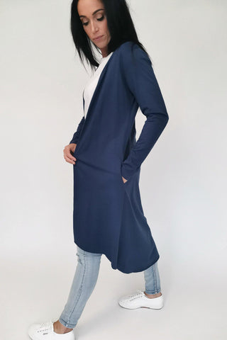 Betty Basics Scarlett Cardigan Navy