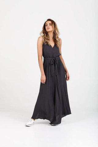 Brave+True Kinsley Dress Charcoal