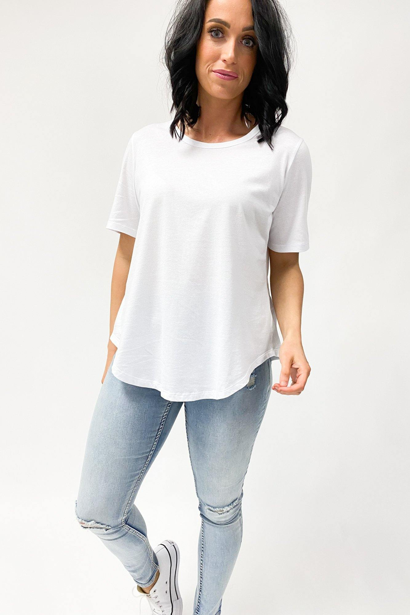 Betty Basics Ariana Tee White