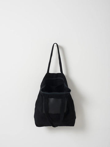 Citta Byron Carryall Tote with Leather Pocket Black