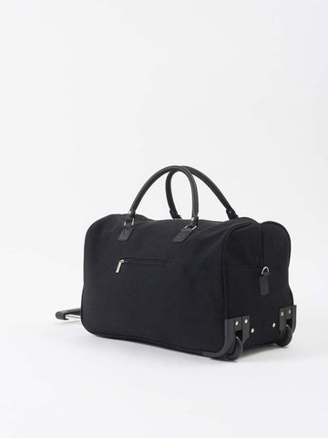 Canvas Trolley Bag Black