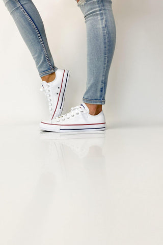 Converse Chuck Taylor All Star Leather Low White