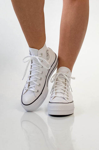 Converse Chuck Taylor All Star Lift High White