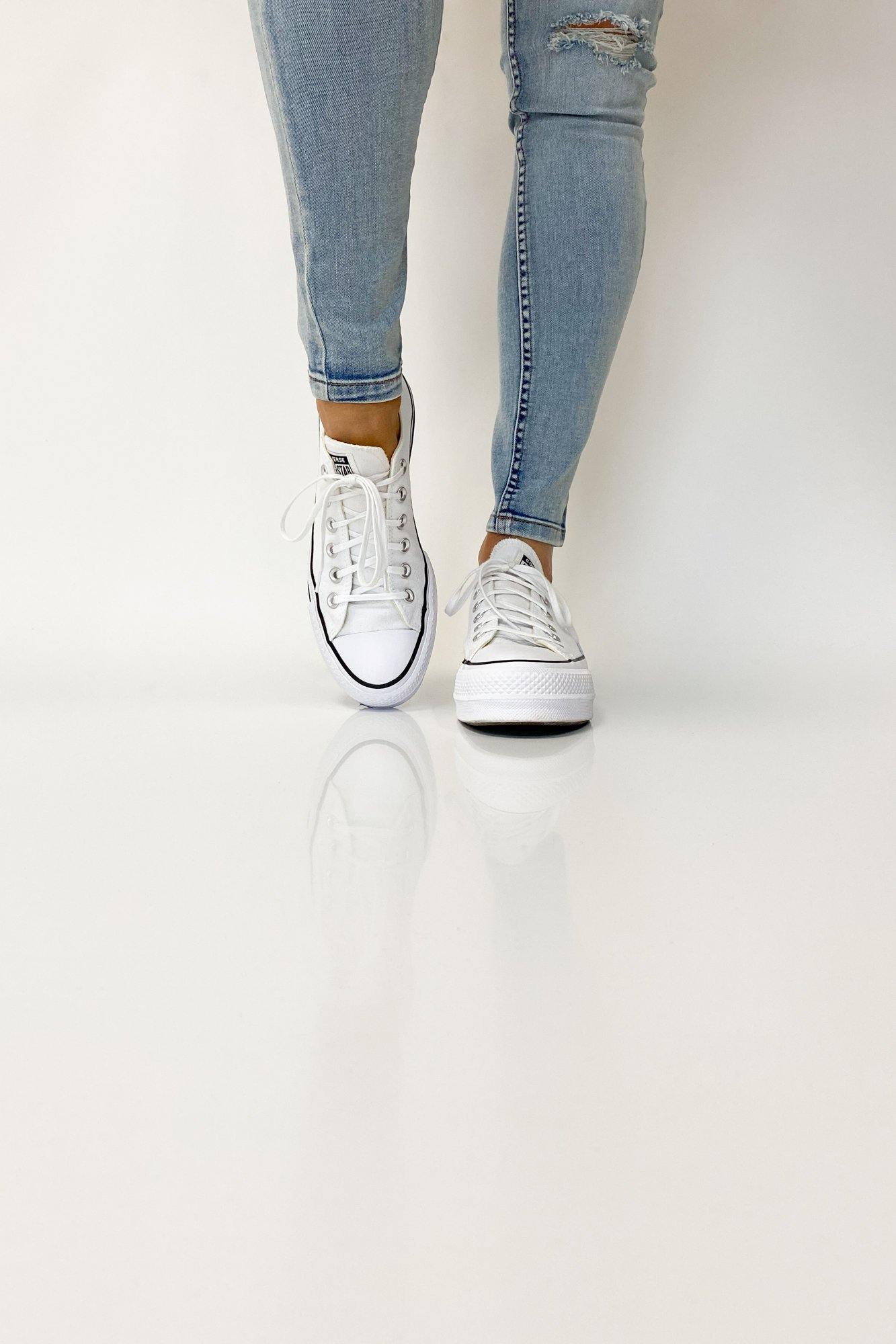Converse Chuck Taylor All Star Lift Low White