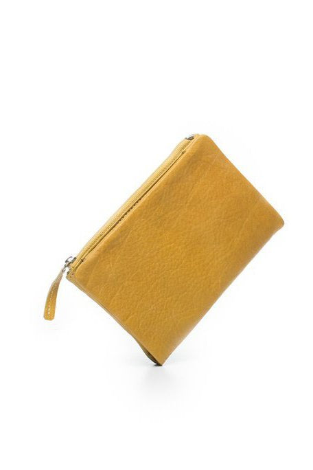 DUSKY ROBIN LEATHER - DUSKY PURSE - SUMMER YELLOW