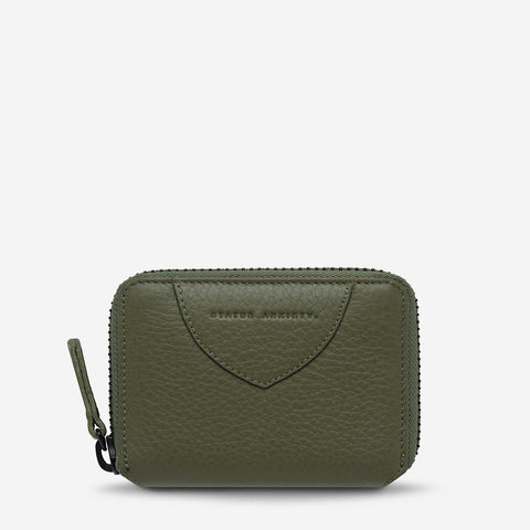 Status Anxiety Wayward Wallet Khaki