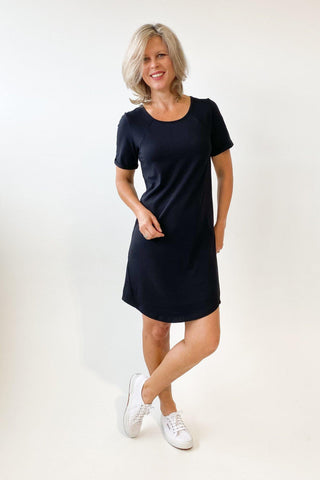 Foxwood Mackenzie S/S Dress  Black