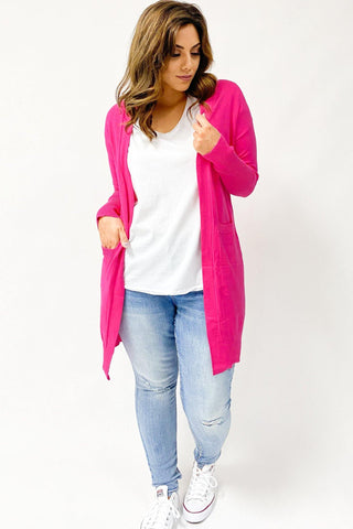 Freez Lounge Cardi Hot Pink (Lounge99)