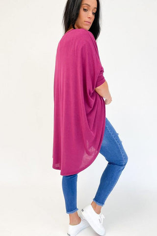 Freez Festival Shrug Plum (2 for $89 Offer)