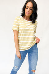 Federation Ace Tee Plus Dot Mustard