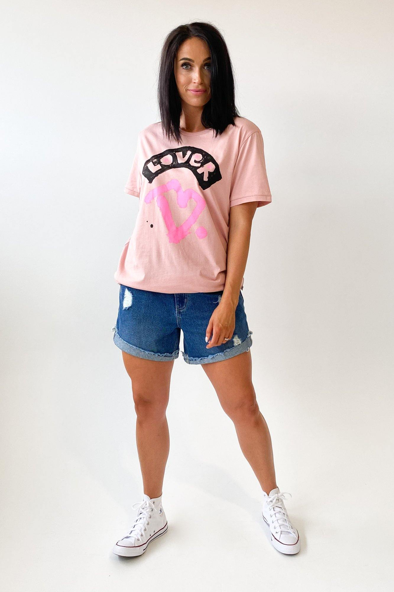 Federaton Rush Tee Lover Muted Rose