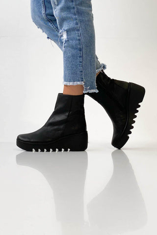 Fly London Bale Boot Black