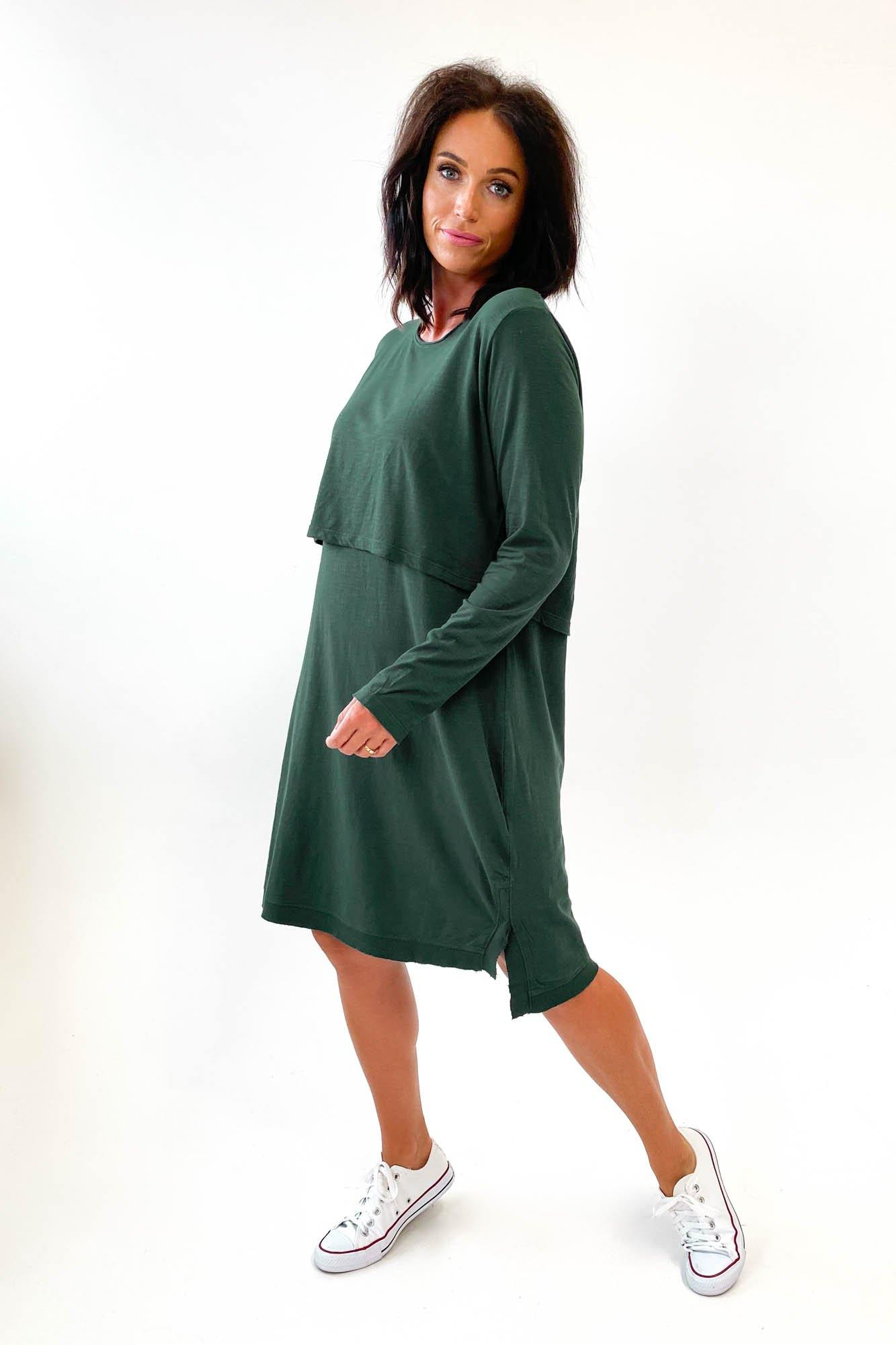 Foxwood Highline Dress Forest Green